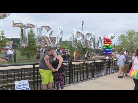 """Thousands celebrate inaugural """"Tri-Pride"""" festival in Johnson City"""