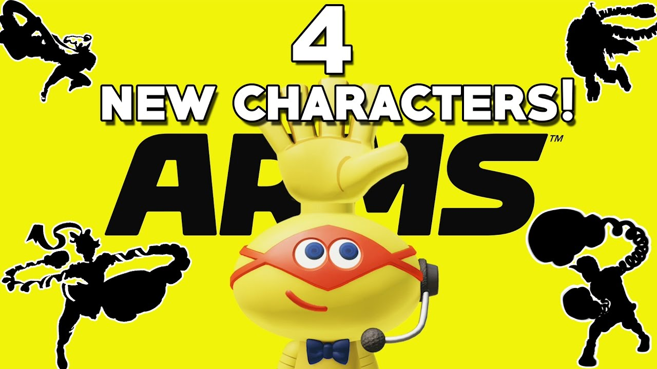 Arms Four New Secret Characters Revealed Nintendo Switch