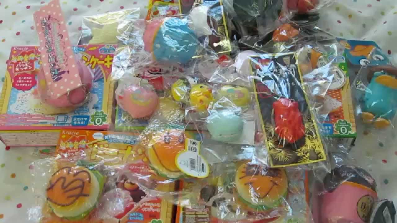 Huge Rare Squishy Collection : HUGE RARE SQUISHY SALE #6 ***CLOSED*** - YouTube
