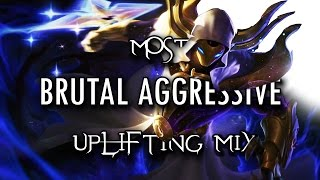 ☢WARNING☢ LoL MOST AGGRESSIVE GAMING MUSIC MIX| Electronic Metal 1-Hour Uplifting Mix