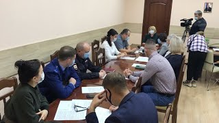 На оперативном штабе Ревды обсудили проблемы масок, фитнес-клубов, дезинфекции и коронавируса