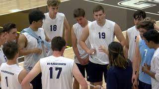 Boys Volleyball, Valley Christian Waŗŗioŗs vṡ Sт Fraฑcis Lan¢ers - Apŗil 26th, 2018