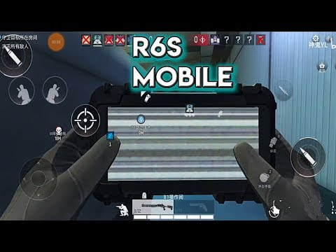 Rainbow Six Mobile Gameplay Android  ( Project F2 / 代号F2 )