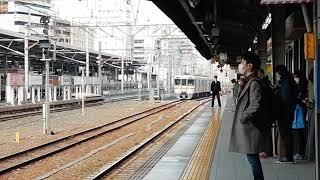 313系B504編成ワンマン普通四日市行名古屋13番線到着&313系B518編成回送列車名古屋通過