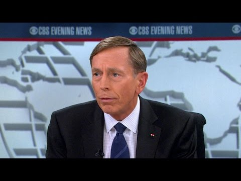 Former CIA Director David Petraeus talks ISIS strategy