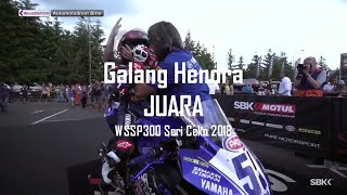 Video Juara Galang Hendra Podium WSSP 300 Ceko download MP3, 3GP, MP4, WEBM, AVI, FLV Juni 2018