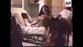 COLOMBIA: PLANE CRASH GIRL SURVIVOR LEAVES HOSPITAL