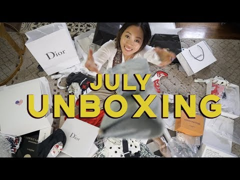 July Unboxing + Giveaway  Aimee Song