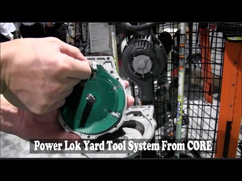 Power Lok System From #COREGasLess Outdoor Power Tools: By The Weekend Handyman