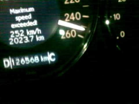 MERCEDES BENZ CLS 350 TOP SPEED HIGHWAY   ✰ TOP S ✰