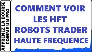 TUTO - COMMENT VOIR LES HFT ROBOTS TRADER HAUTE FREQUENCE SUR LA PROFONDEUR DE MARCHÉ DE LA BOURSE