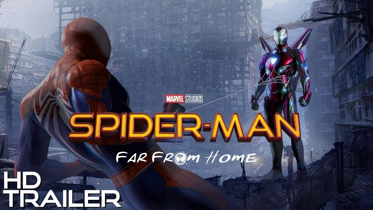 Marvels Spider Man Far From Home Teaser Trailer 2019 New Tom Holland Hd Movie Trailer Buzz Youtube