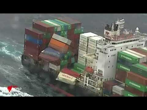 SBS Cargo Ship Loses Containers on route to Sydney