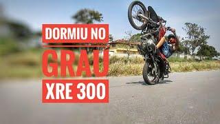 XRE300  CORTE DE EMBREAGEM NA PRIMEIRA AULA DE GRAU