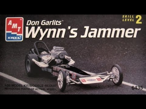 How to Build the Don Garlits' Wynn's Jammer Clear Body Dragster 1:25 Scale AMT Kit #6435