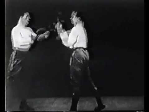 Jim Corbett vs. Kid McCoy sparring