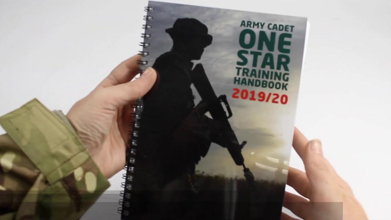 Afx Army Cadets army cadet one star handbook (2nd ed. 2019-20)