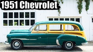 1358. Любовь на века с 1951 Chevrolet Woody station wagon