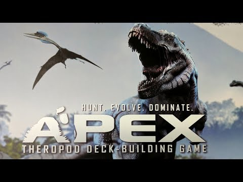 Apex: Theropod Deck-Building Game - Part 1