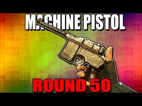 WW2 MACHINE PISTOL ON ROUND 50 - CALL OF DUTY WW2 ZOMBIES