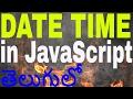 Date & Time in javascript in telugu