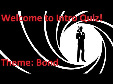 Music Intro Quiz 53 James Bond Youtube