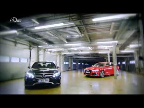 Fifth Gear AUDI RS6 vs MERCEDES E63 AMG