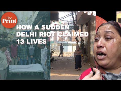 Anatomy of a riot in NE Delhi : A burnt masjid, a gutted market & a man dead in firing