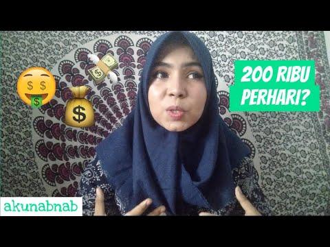 DAPAT 200 RIBU PERHARI?!| CARA DAPAT UANG TAMBAHAN DARI APLIKASI KERJA ONLINE 2019| nabnab rahmadani