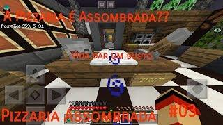 Minecraft PE: Pizzaria Assombrada #3 A Pizzaria É Assombrada??