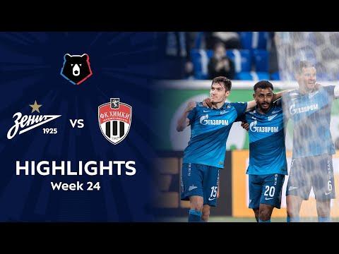 Zenit Petersburg Khimki Goals And Highlights