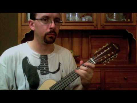 Lute Music on 8-string Ukulele