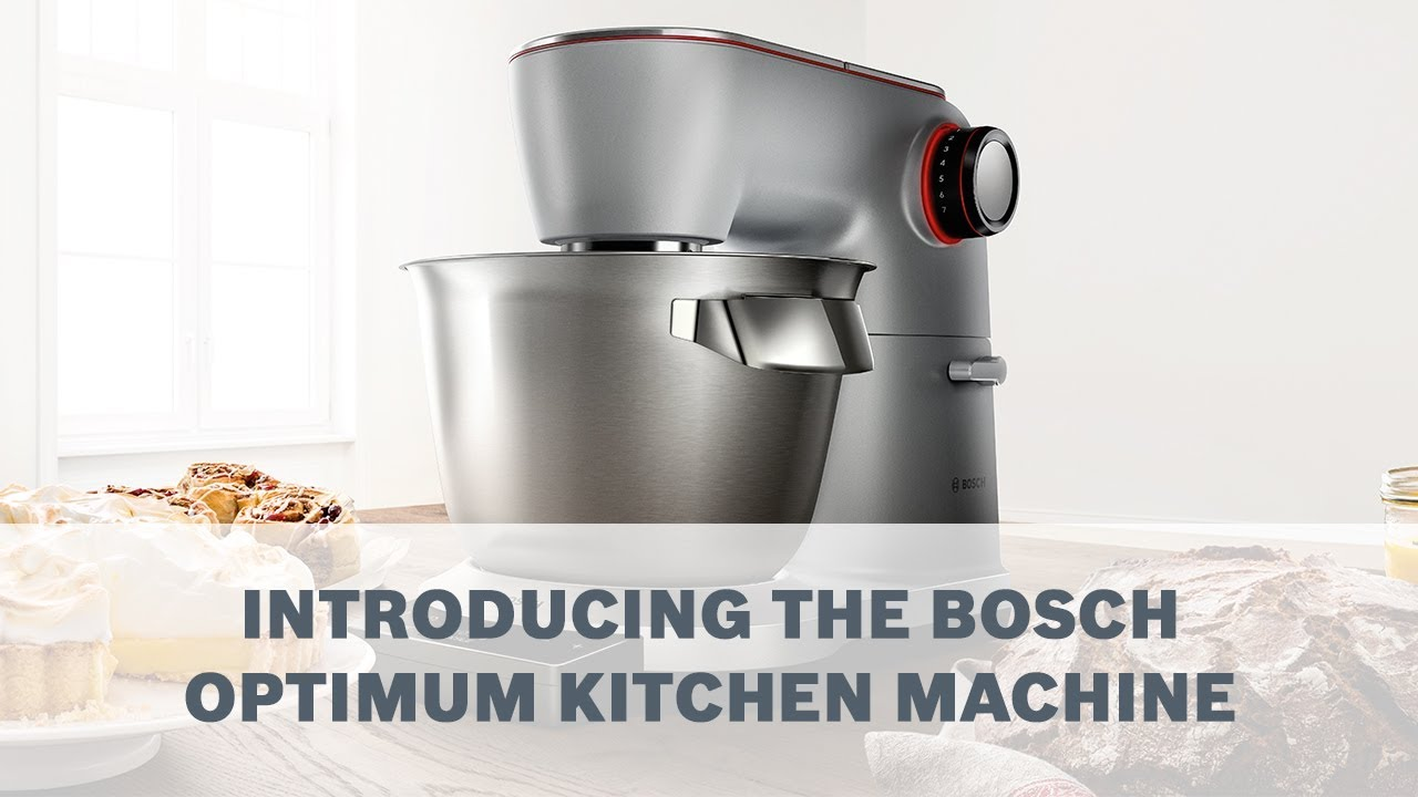 Introducing The Bosch Optimum Kitchen Machine Youtube
