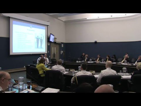 April 27, 2016 Presentation to the York Regional Police Services Board