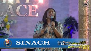 SINACH LIVE @ JESUS WOMEN OF INFLUENCE 2017...WITH MAMA BLESSINGS AGBOLI