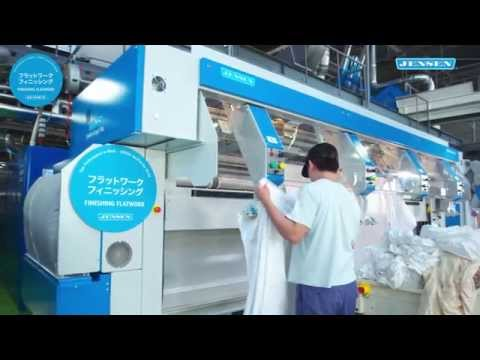 Hokkaido Koseisha, Japan, trusts on laundry technology from JENSEN