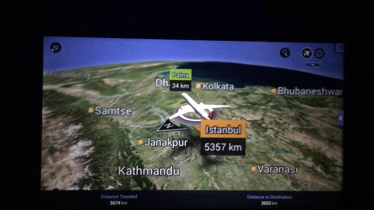土耳其航空航空路線圖 - YouTube