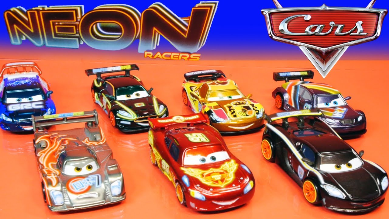 cars neon racers