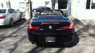 BMW 650i.  convertible  2012