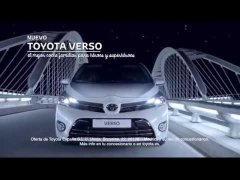 Resultado de imagen de Anuncio Spot Toyota Verso