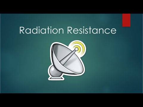 Radiation Resistance | Basics of Antenna | Learning Studio