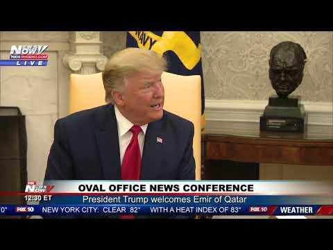 """MUST WATCH: President Trump """"Not A Fan"""" of Jeffrey Epstein"""
