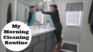 My Morning Cleaning Routine | Clean with Me Vlog Style