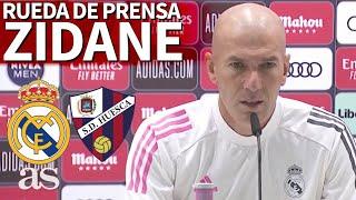 Rueda de prensa de ZIDANE previa al HUESCA | Diario AS