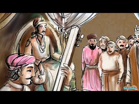 akbar the great mughal emperor history of educational  akbar the great mughal emperor history of educational videos by mocomi kids