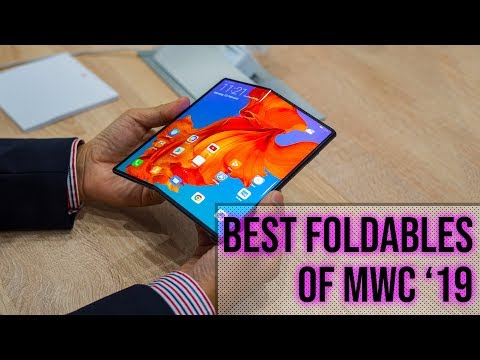 Best foldable phones at MWC 2019