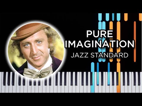 Pure Imagination - Jazz Piano Solo Tutorial