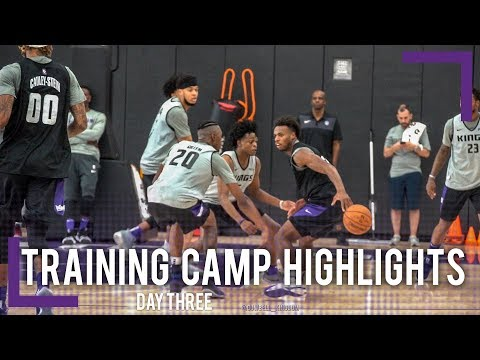 Training Camp Day 3 Highlights - Sacramento Kings | 2018-19 NBA Season