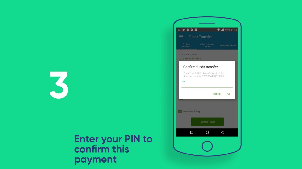 Ecobank Mobile Tutorial Send Money To Other Countries