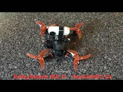 Фото Insta360 Go FPV Stabilization Mode! (Babyhawk R2.5)